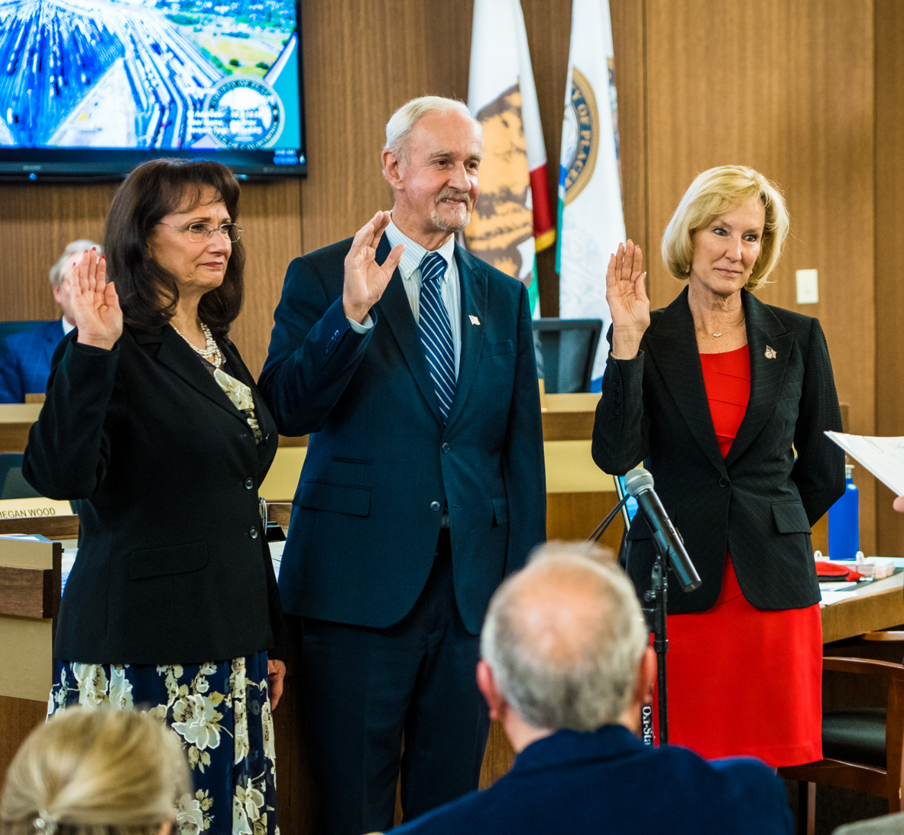 Board of Supervisors Swearing-in Ceremony News Flash Jan. 2021